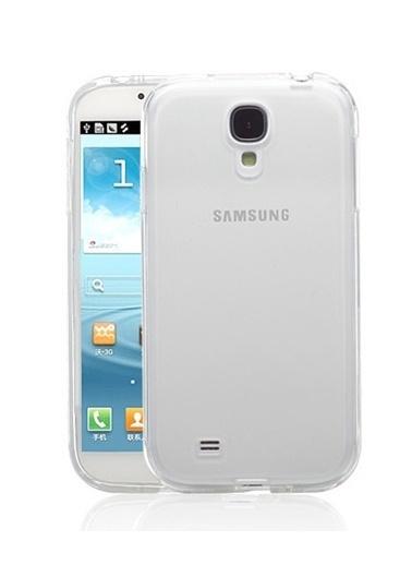 Microsonic Galaxy S4 Clear Soft Şeffaf Kılıf Renkli